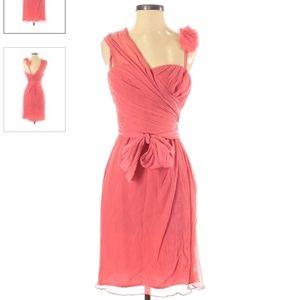 Vera Wang Lavender Label Coral Pink Dress 10